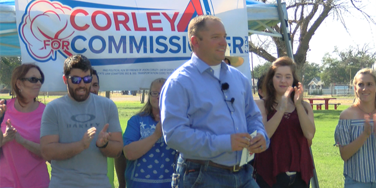 Jason Corely announces run for county commissioner