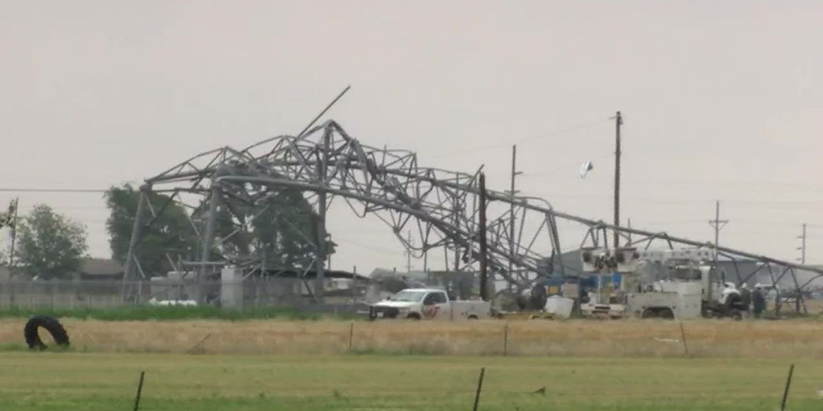 Plainview Damage after EF2 tornado on 052519