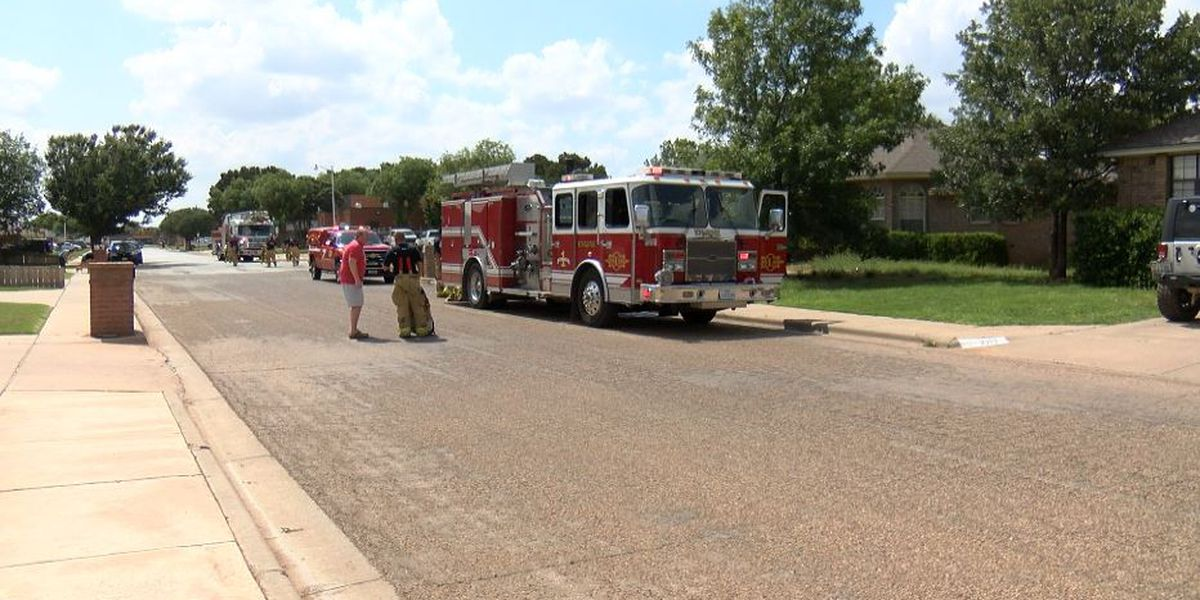 Lubbock Fire Rescue responds to house fire in South Lubbock