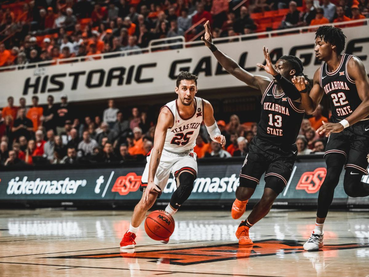 No. 24 Texas Tech falls to Oklahoma State 73-70