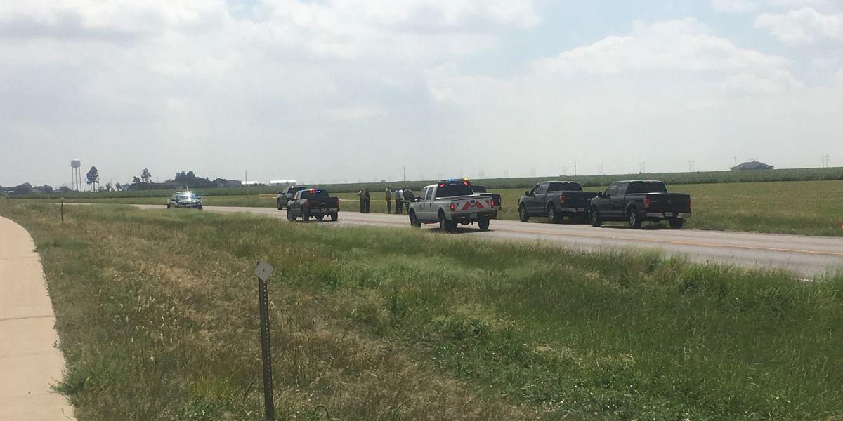 Body found on I-27 north of Abernathy