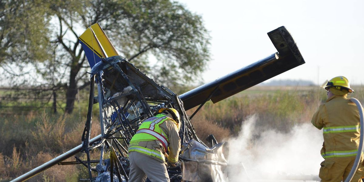 DPS identifies pilot after crop duster plane crash in Lamb County
