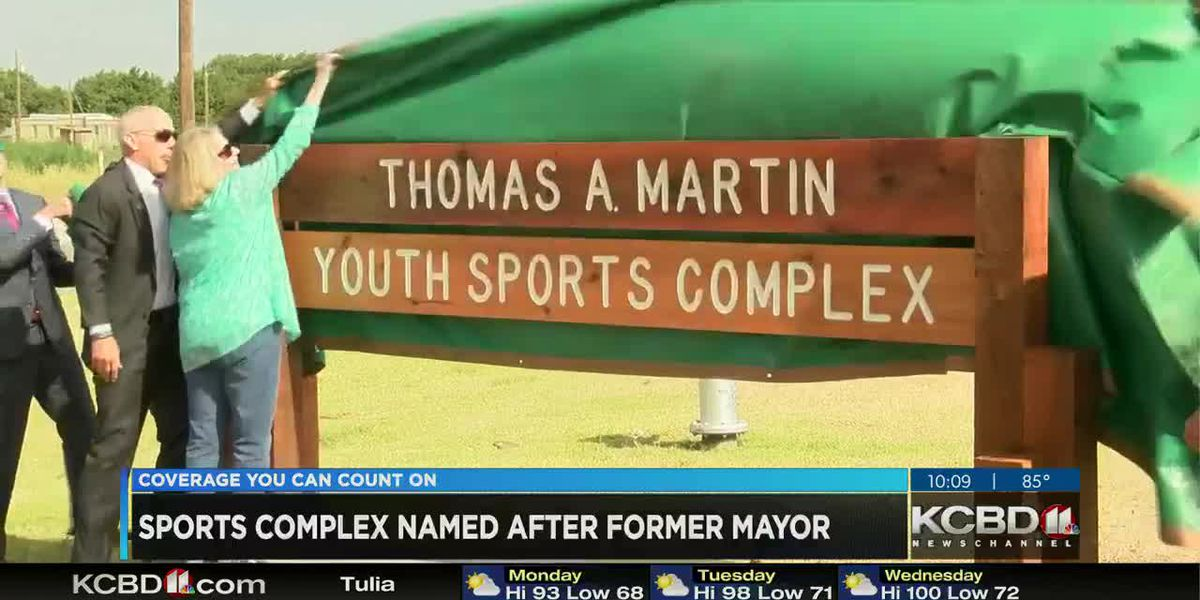 Sports complex renamed after Lubbock Mayor Tom Martin