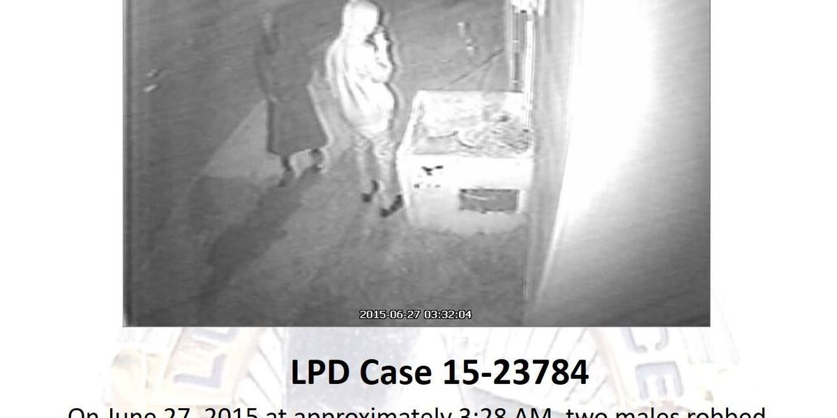 LPD searching for Tobacco Road robbery suspects