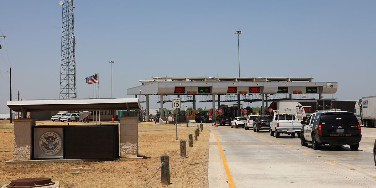 Missing Texas girl found at Border Patrol checkpoint