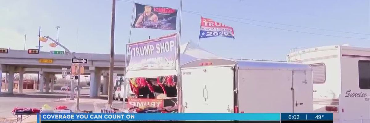 """Trump Shop"" in Lubbock says increase in sales after President Trump impeachment vote"