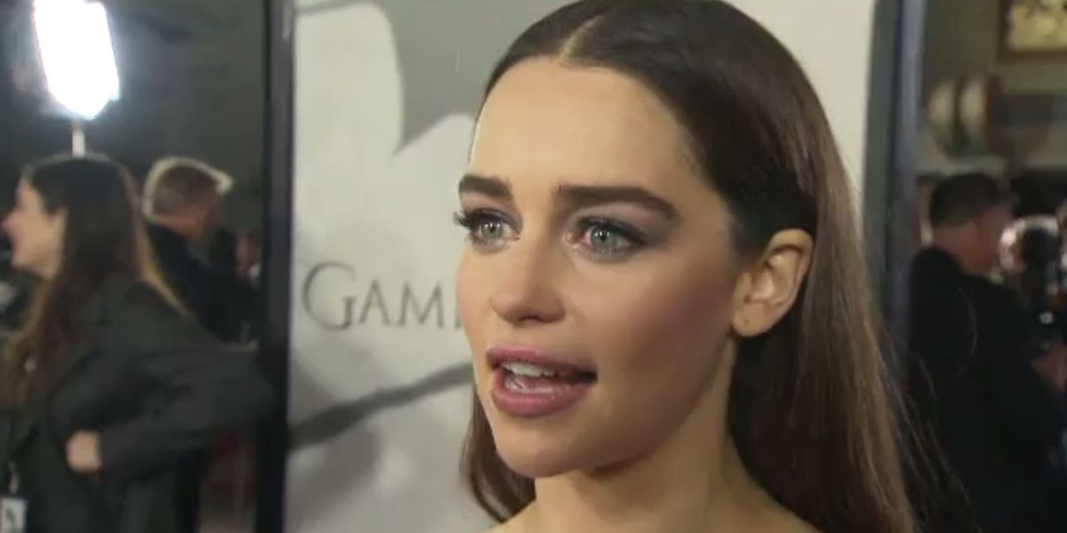 Emilia Clarke talks about pressure to appear nude after 'Game of Thrones'