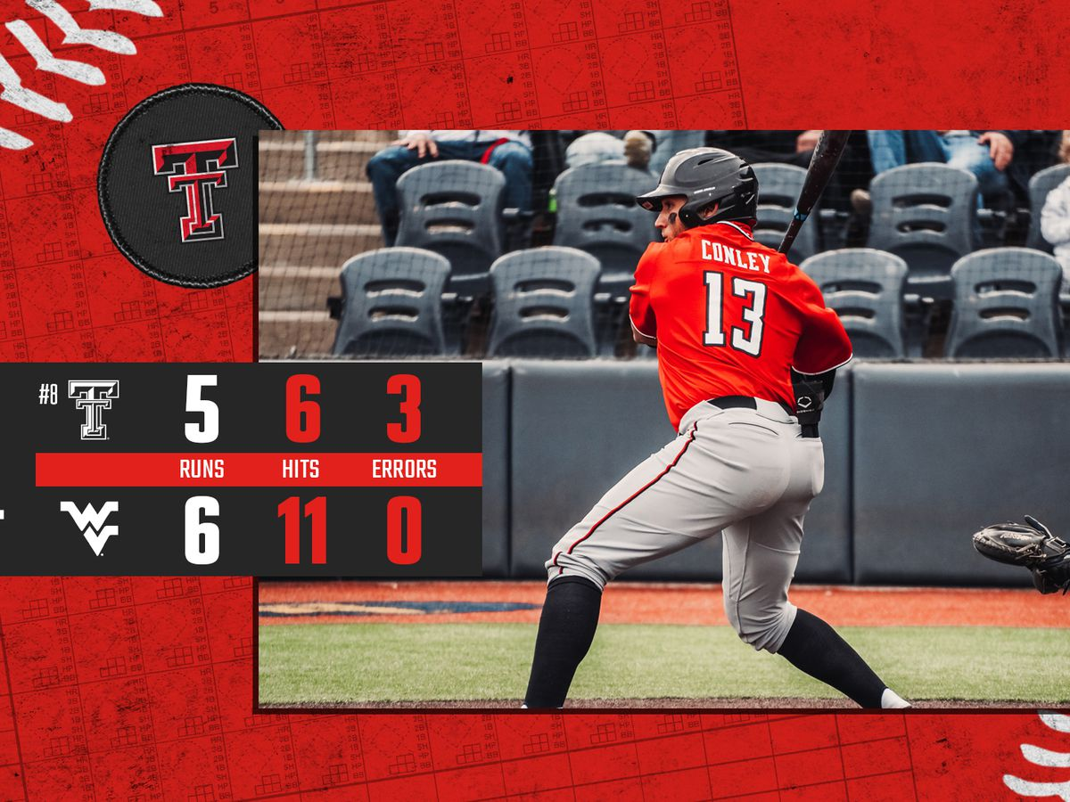 Texas Tech baseball drops game two at West Virginia 6-5