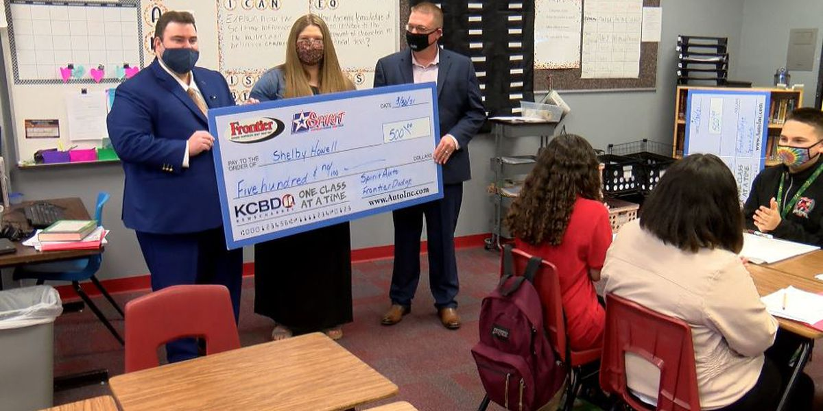 One Class at a Time: Mackenzie Middle School teacher, Communities in Schools awarded $500