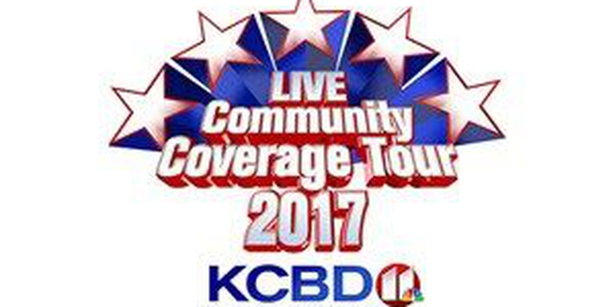 2017 Live Community Coverage Tour starts Monday