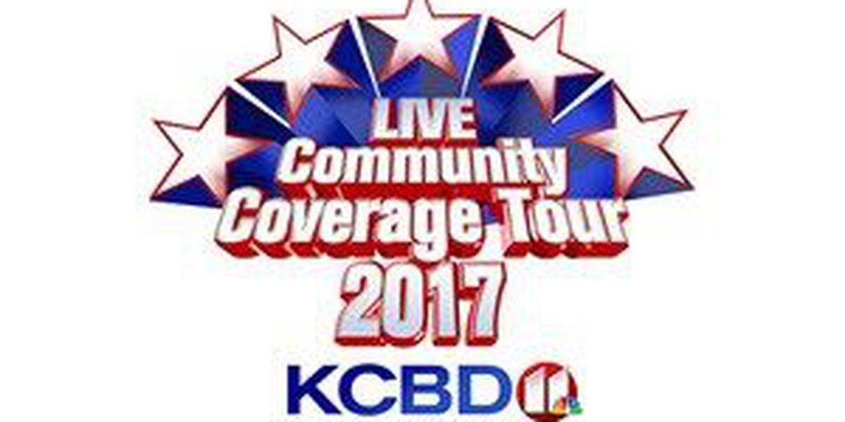 2017 Live Community Coverage Tour starts Monday