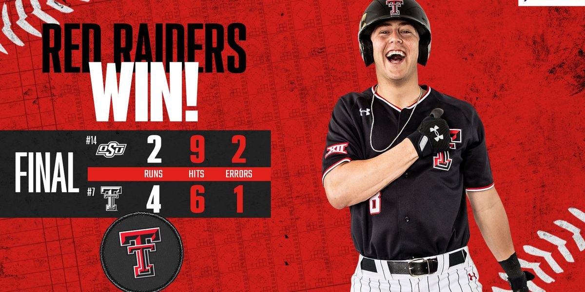 Texas Tech bounces back in 4-2 win over Oklahoma State