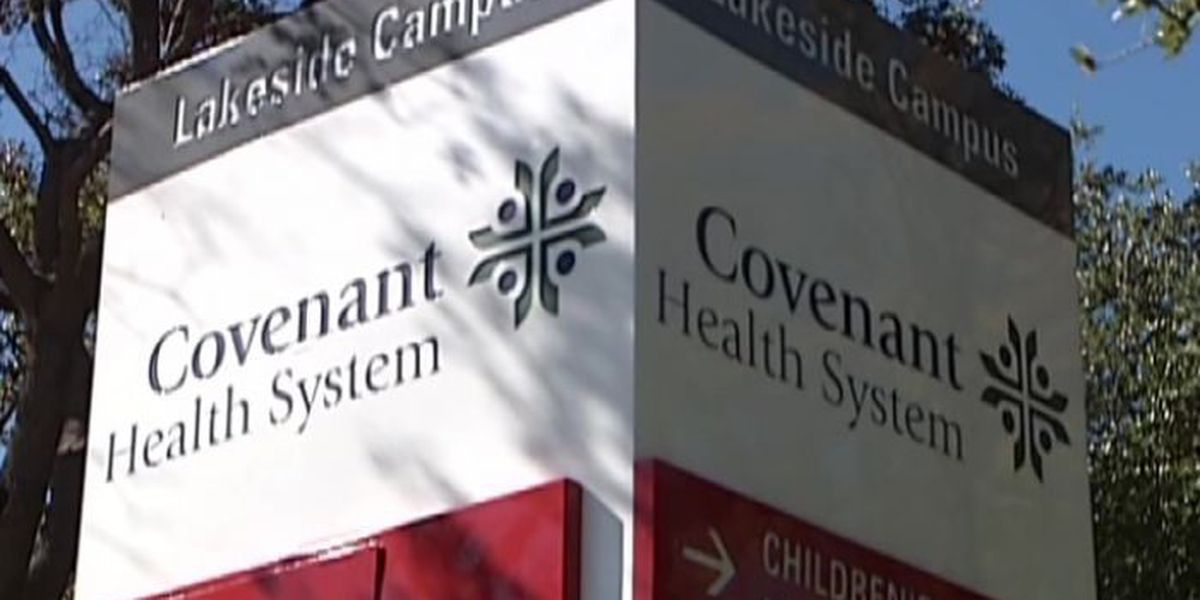 Part of 21st Street closed for Covenant Medical Center construction