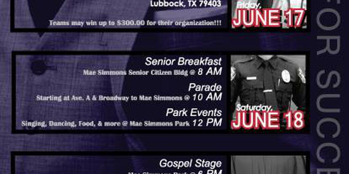 Juneteenth celebration schedule announced