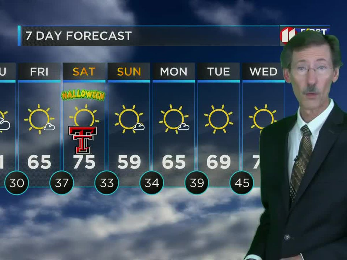Cold night but warmer Thursday
