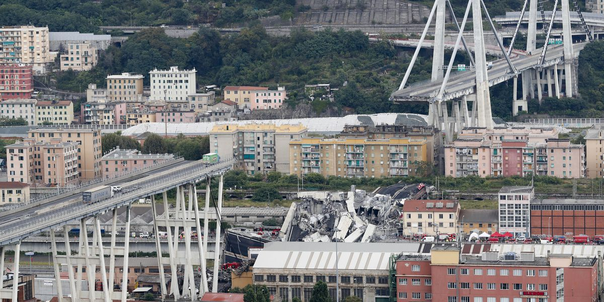 Genoa announces $220M project to replace collapsed bridge