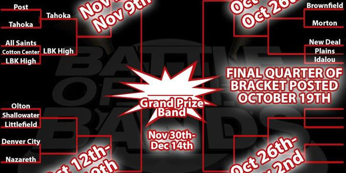 Area schools advance in Battle of the Bands Contest