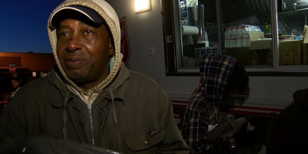 Salvation Army helping the homeless fight the cold