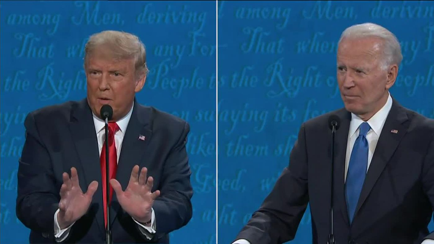 Upbeat Trump hits the trail, Biden tries debate cleanup