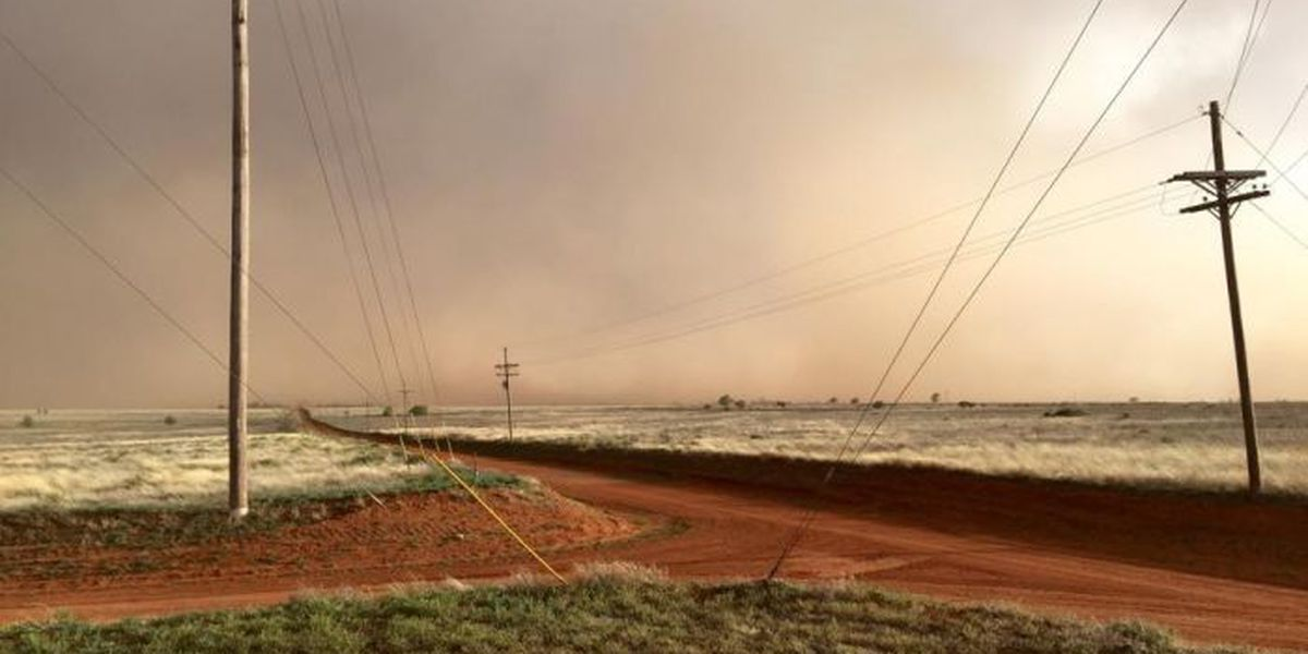 Severe storms bring hail, lightning, damaging winds to South Plains