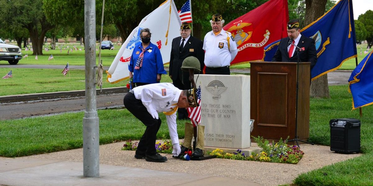 Resthaven, Lubbock Veterans of Foreign Wars host annual Memorial Day ceremony