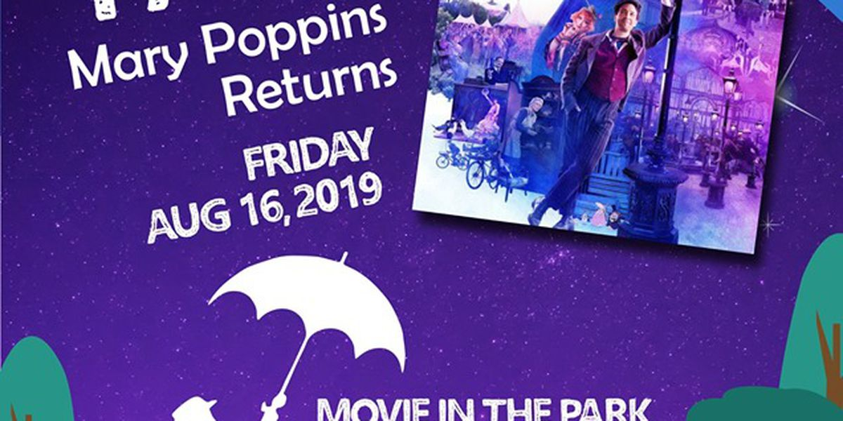Parks and Recreation to screen 'Mary Poppins Returns' for final Movie in the Park