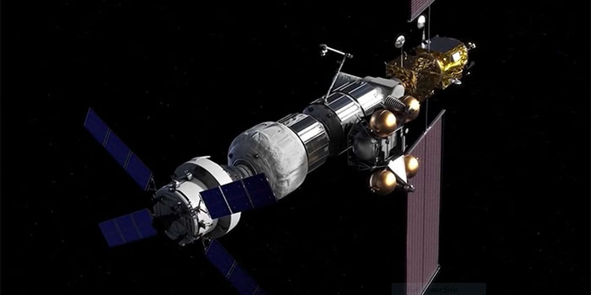 NASA selects SpaceX to supply agency's planned lunar space station