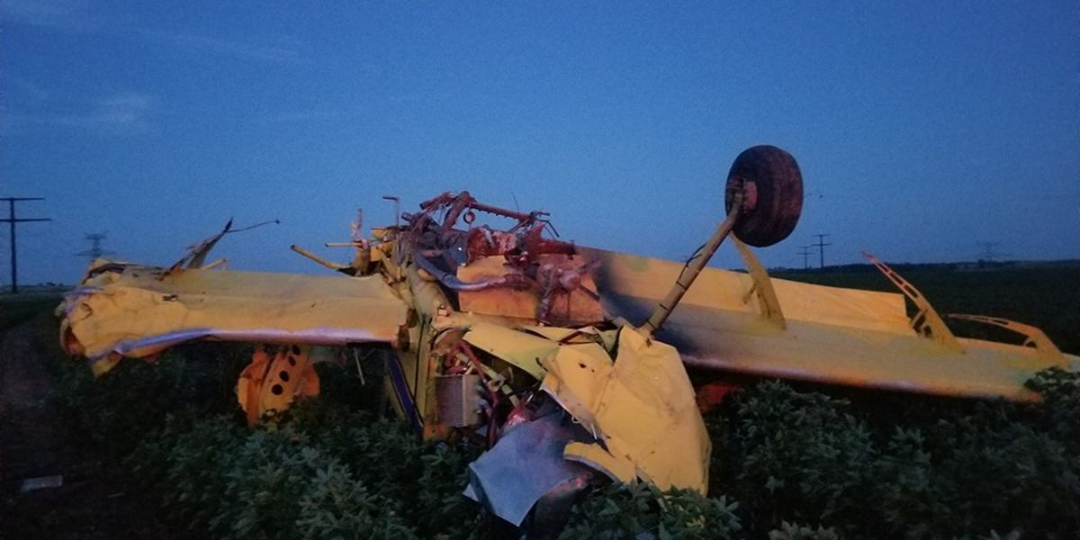 2 involved in plane crash near Turkey over the weekend