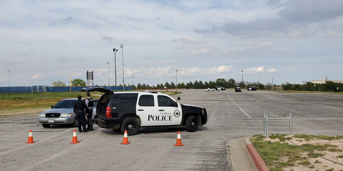Heavy police presence at Berl Huffman Athletic Complex