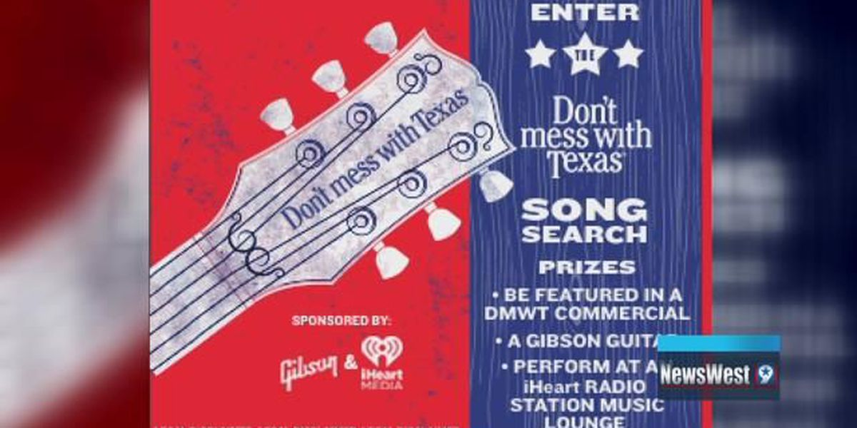 Lubbock artist competing in 'Don't Mess with Texas' campaign jingle contest