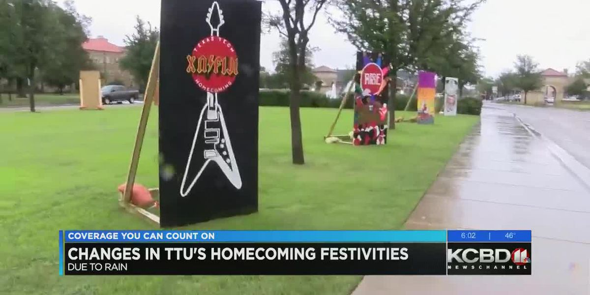 Weather brings changes for Tech homecoming