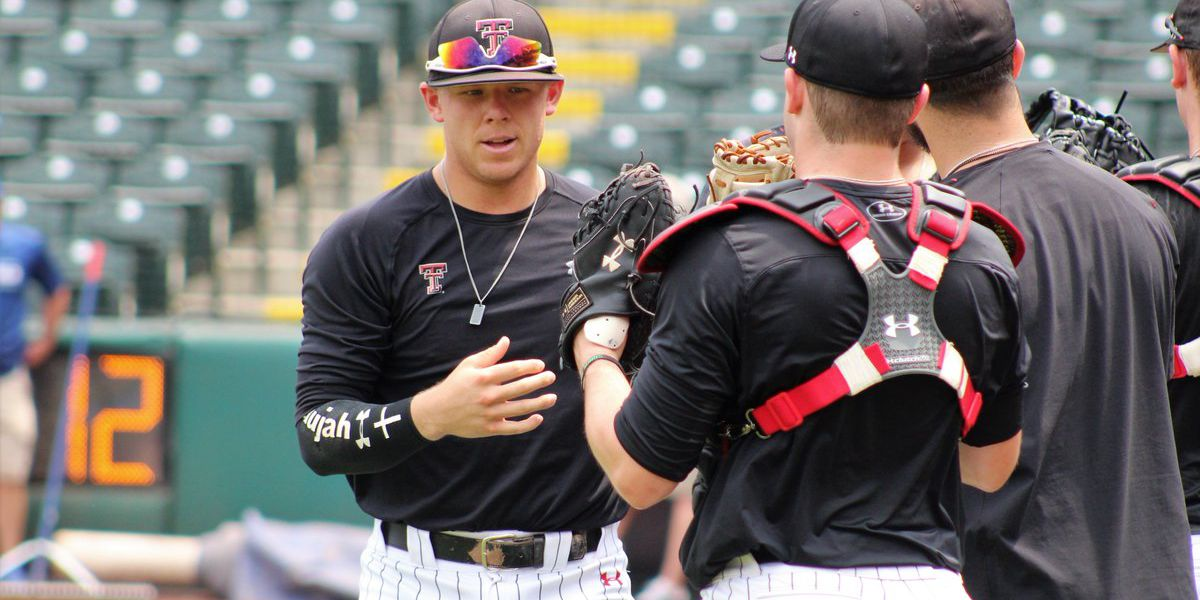 Texas Tech retakes lead from Kansas 7-5 in 8th inning of Big 12 elimination game
