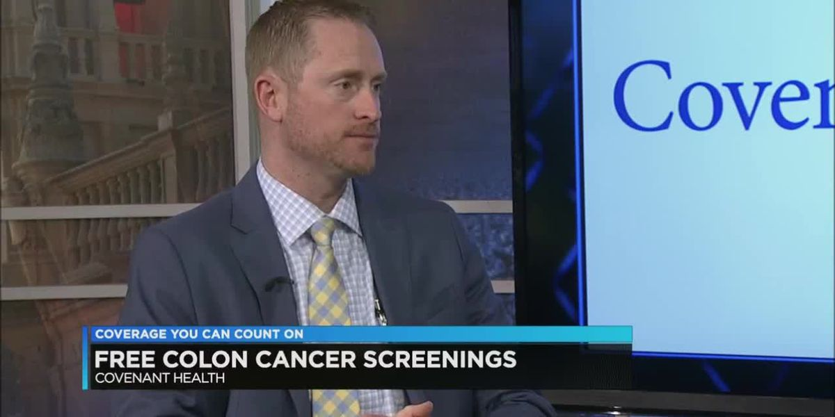 Covenant offering free colon cancer screenings March 23