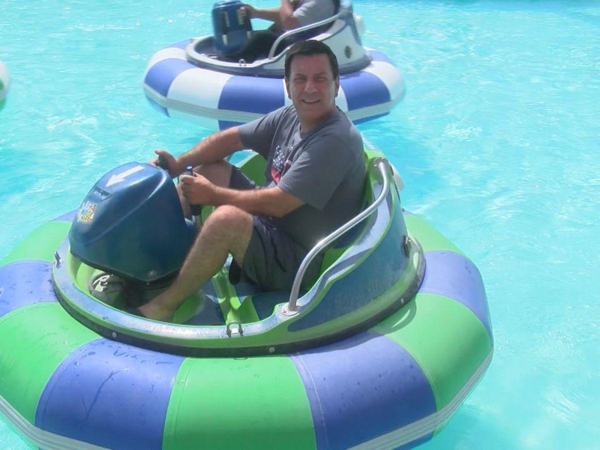 I Beat Pete: Bumper Boat Soccer