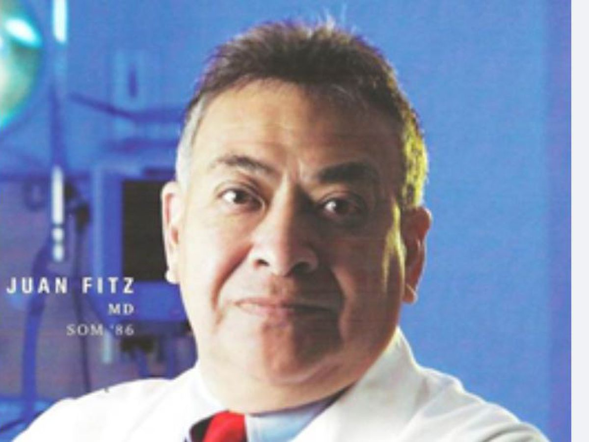New scholarship established for Latino med students in memory of Dr. Juan Fitz
