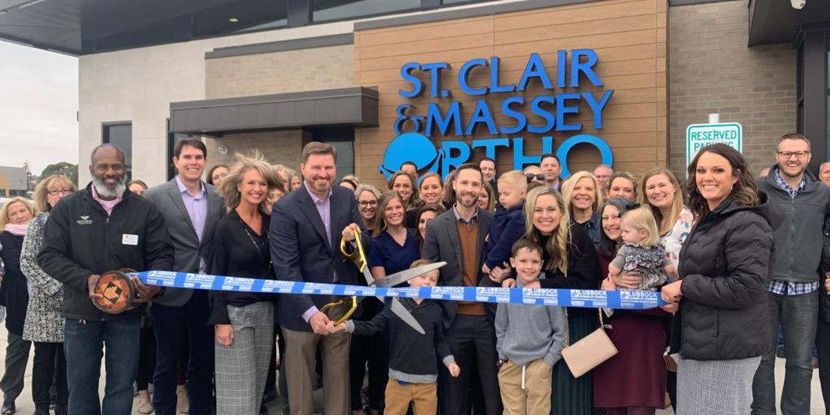 Orthodontic practice cuts ribbon on new clinic, grand opening in North Lubbock