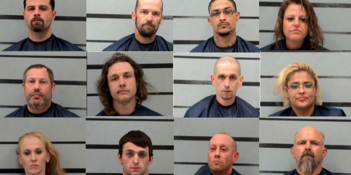 Lubbock TAG investigators arrest 12 in drug and weapons bust