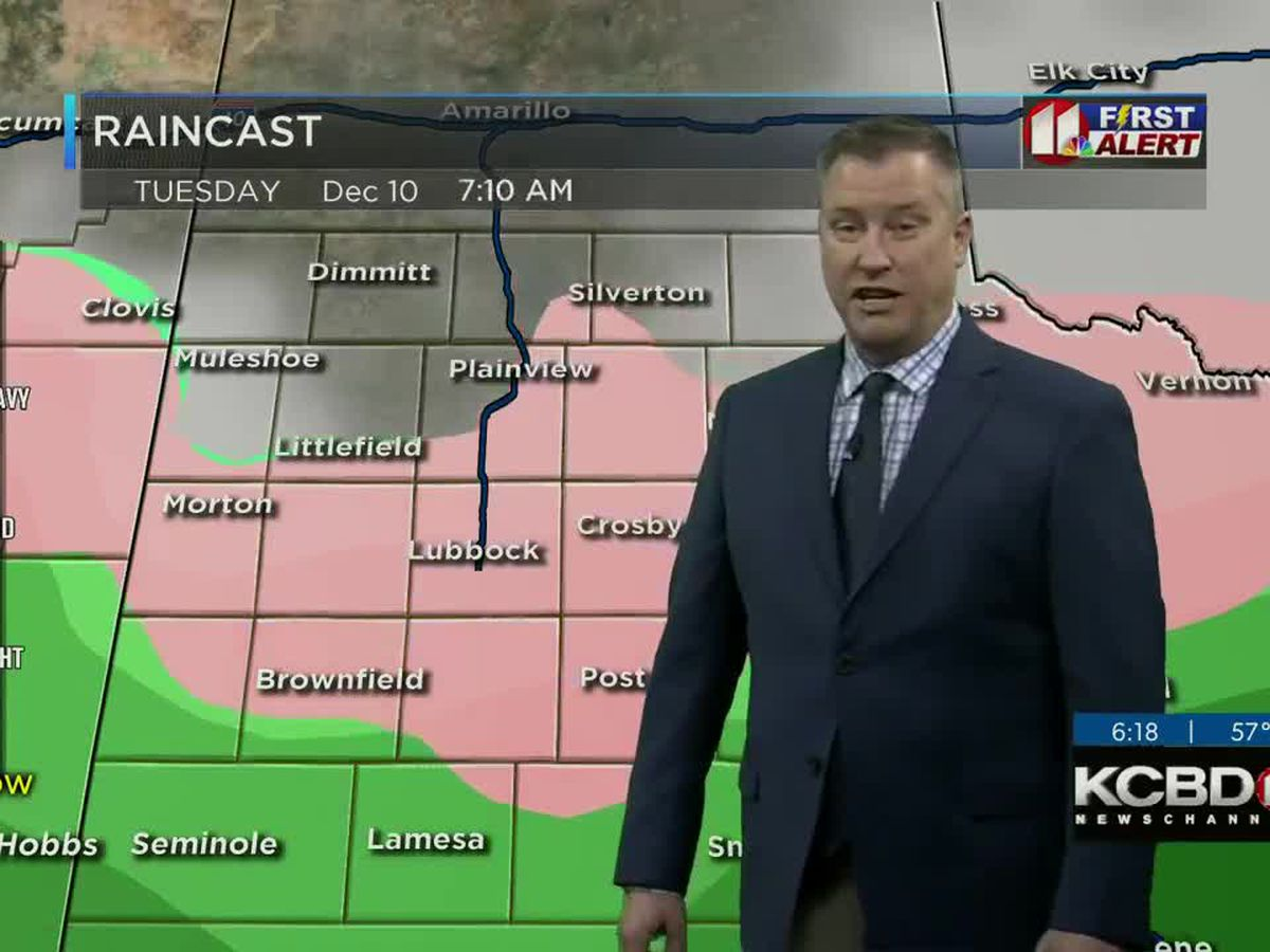 Warmer Sunday, but light wintry mix possible in the extended forecast