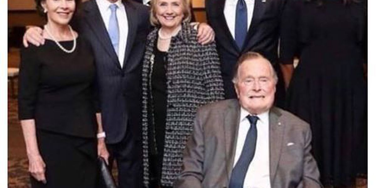 Melania Trump cropped out of viral photo was 'an honest mistake' by Lubbock Co. Democratic Party