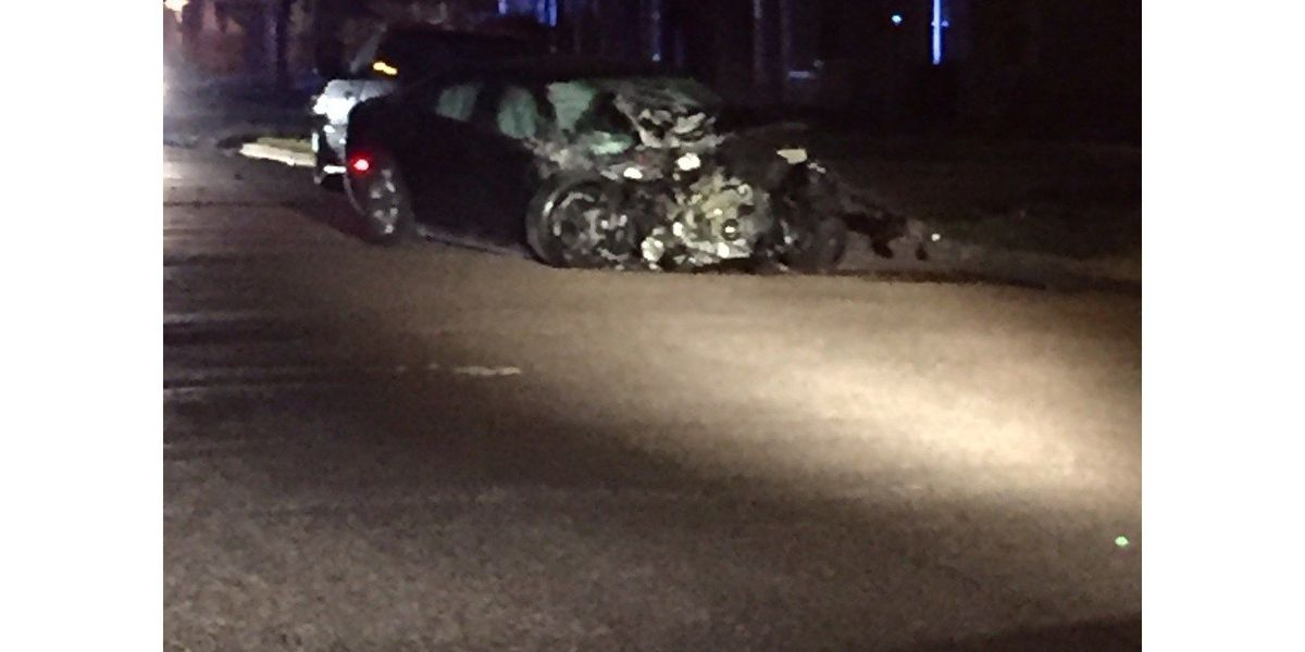 Damaged vehicles left on streets after driver flees from LPD