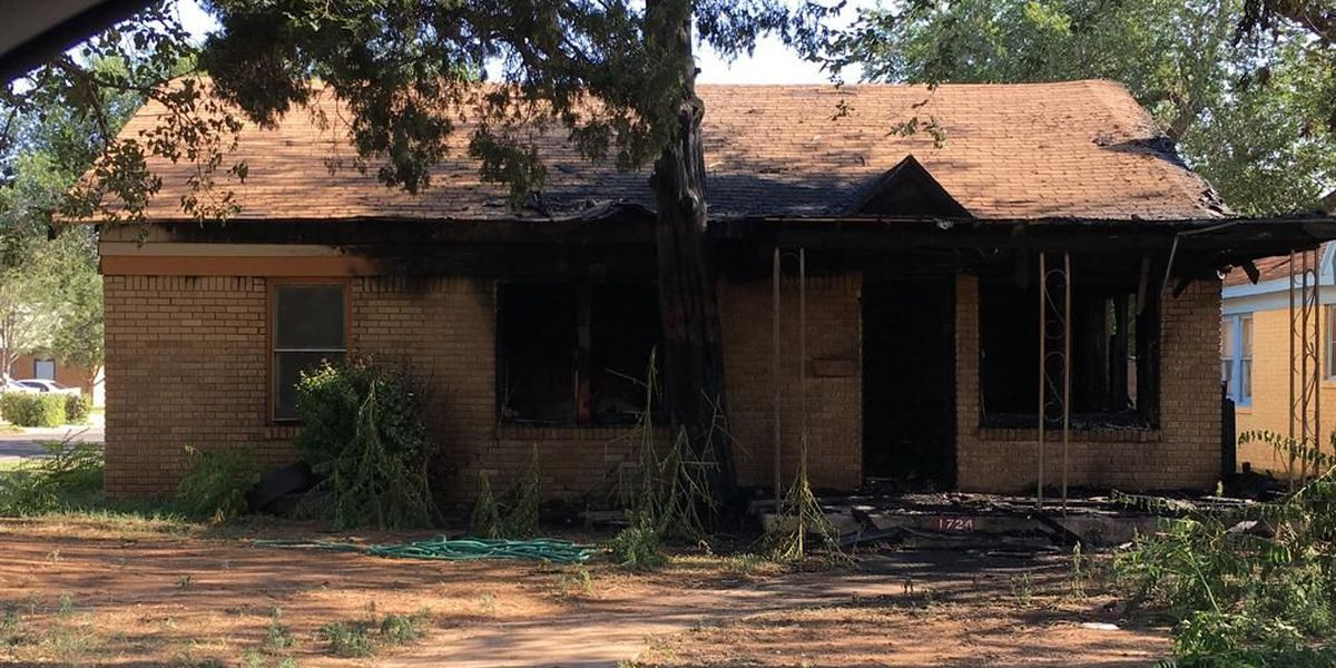 Early morning structure fire in central Lubbock ruled arson