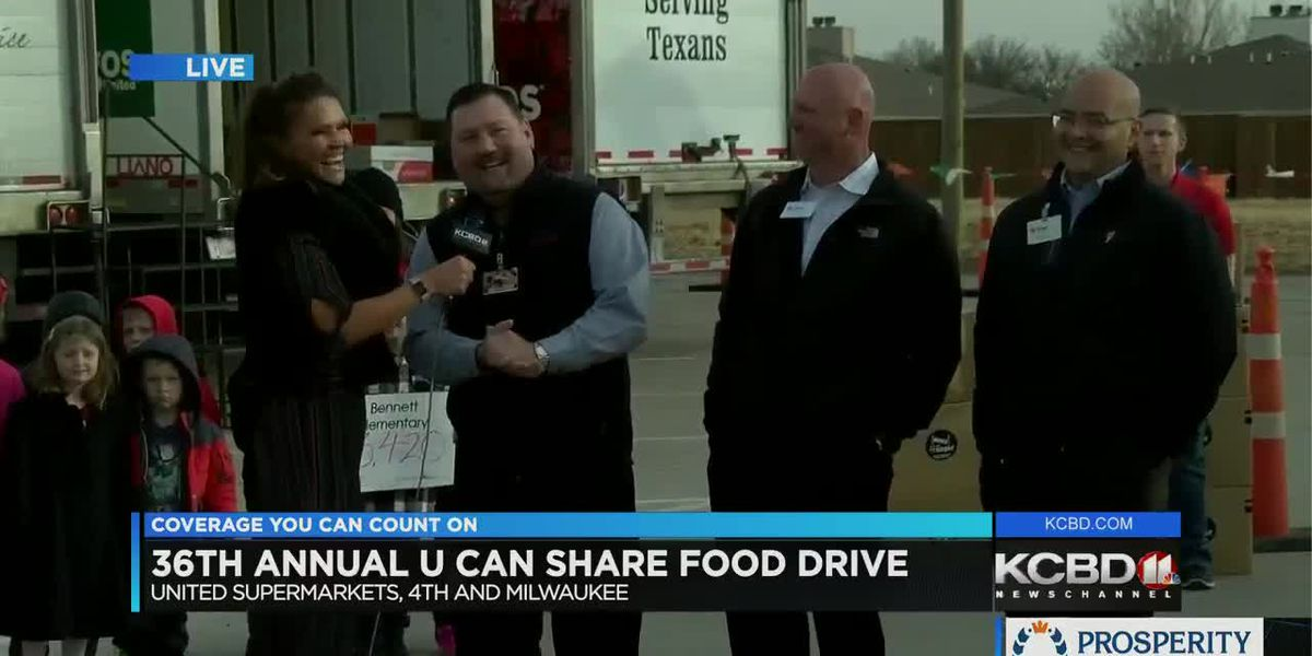 U Can Share Food Drive: Day 3 - 4 p.m.