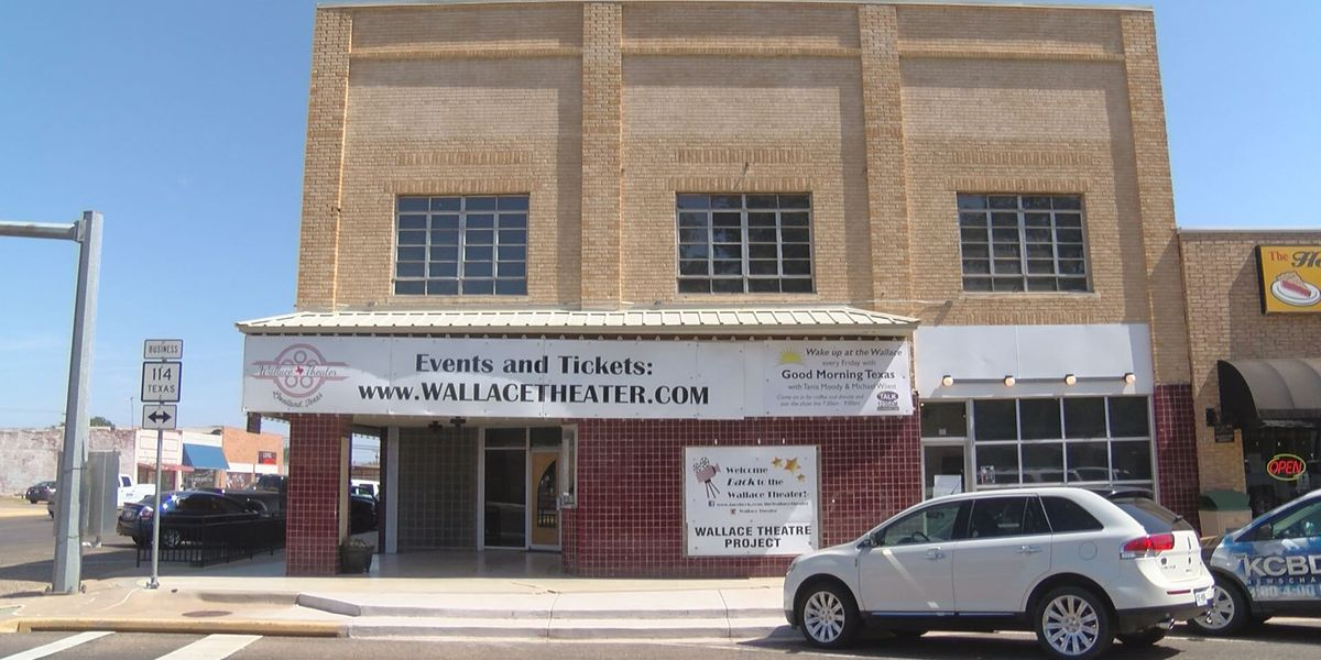 Major renovation project at Levelland's Wallace Theater