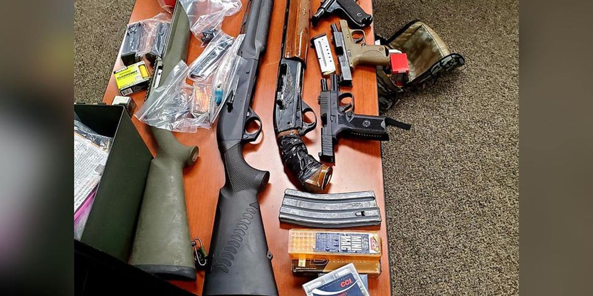 Counterfeit money investigation leads to seized firearms, narcotics, paraphernalia