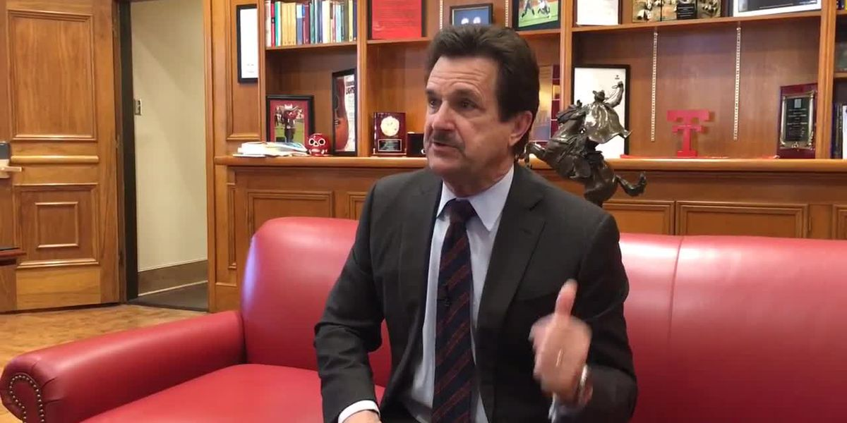 Dr. Lawrence Schovanec on Texas Tech's new agreement with New Mexico Junior College