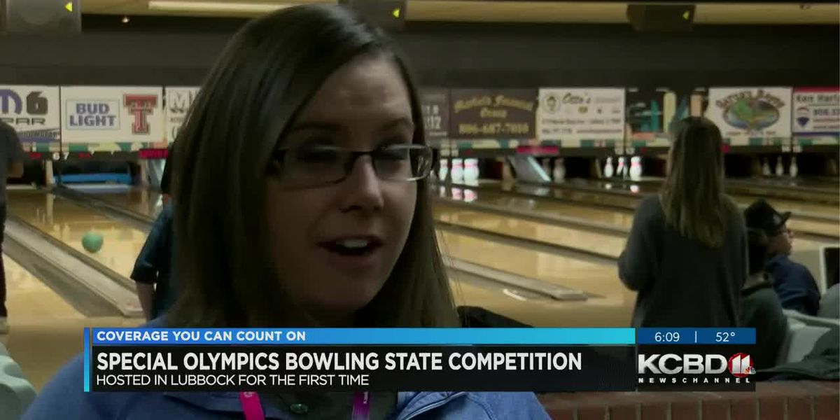 State Special Olympics bowling competition hosted in Lubbock