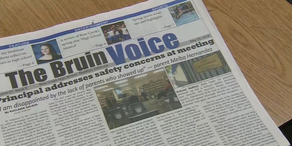 High school newspaper battles with district over story about student in adult entertainment industry