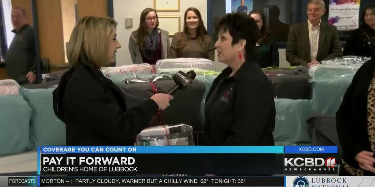 Pay It Forward: Embroidered pillows and bedding for the Lubbock Children's Home