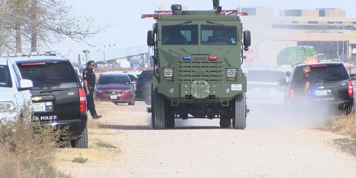 LPD Chief: Shooter in Tuesday SWAT standoff attempted 'suicide by cop'