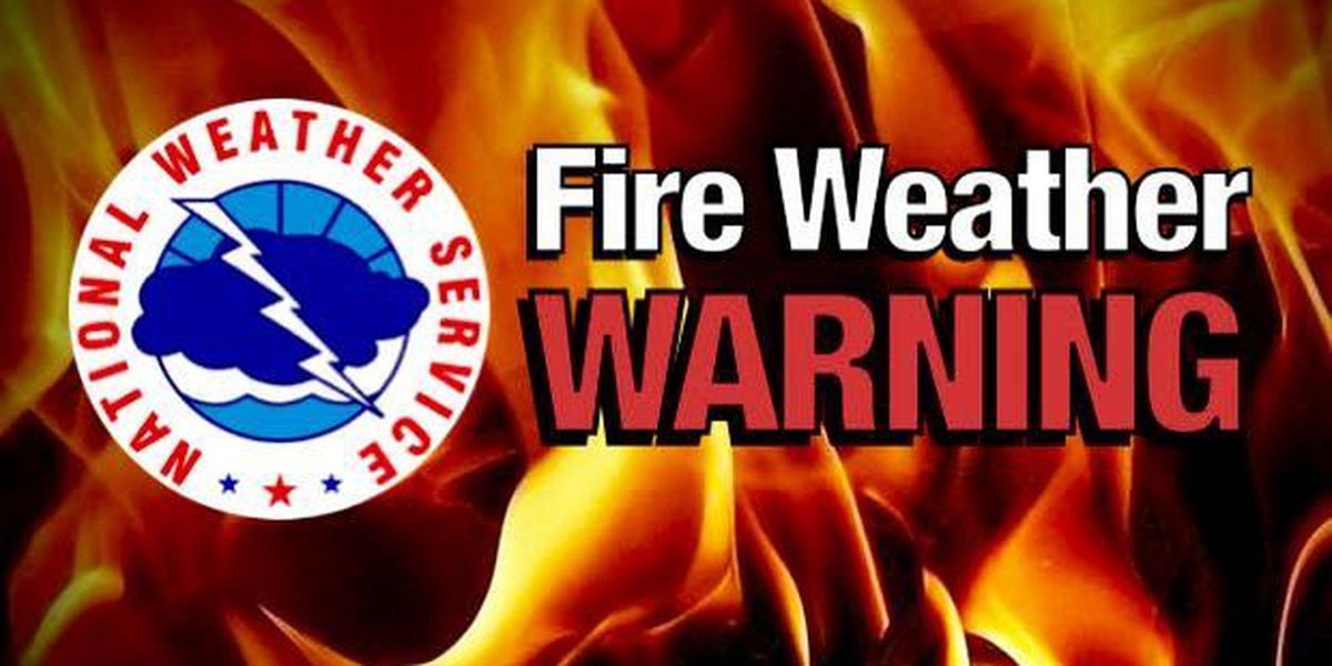 First Alert Forecast: Fire weather warning issued